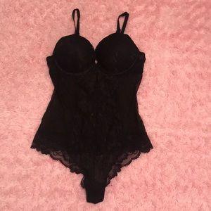 H&M Black Lace Bodysuit